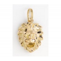 Pendentif TETE de LION en OR