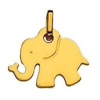 Pendentif ELEPHANT en OR