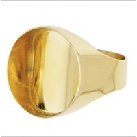 bague PORTE PIECE en OR