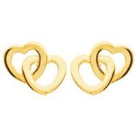 Boucles d'oreilles COEUR en OR