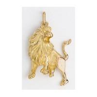 Pendentif LION en OR