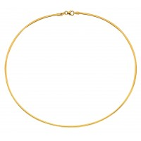 Collier CABLE en OR