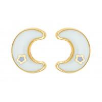 Boucles d'oreilles LUNE en OR