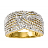 Bague en OR et DIAMANTS