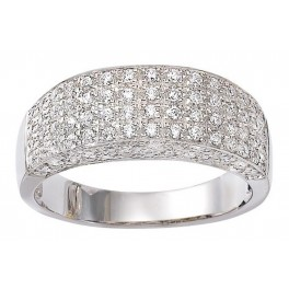 Bague en OR et Pavage en DIAMANTS