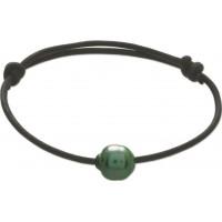 Parure Collier + Bracelet avec PERLE de TAHITI