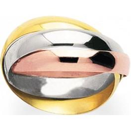 alliance 3 anneaux en 3 ors style cartier bijouterie or et fa on. Black Bedroom Furniture Sets. Home Design Ideas