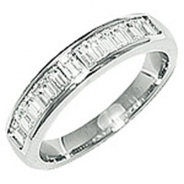 "Alliance Diamants ""Baguette"" en OR"
