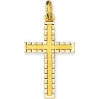 Croix en OR Diamantée
