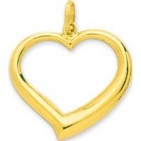 Pendentif Coeur ajouré en OR