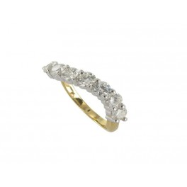 Demi-Alliance Diamants en OR