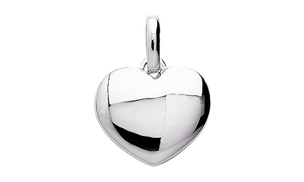 pendentif coeur bomb en argent bijouterie or et fa on. Black Bedroom Furniture Sets. Home Design Ideas