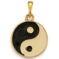 Pendentif Yin-Yang en OR