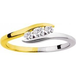 Bague Trilogie en OR et Diamants