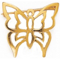 Broche en forme de Papillon