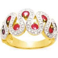 Bague en OR avec Rubis et Diamants