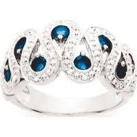 Bague en OR avec Saphirs et Diamants
