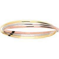 Bracelet JONC 3 ORS Entrelacé