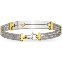 Bracelet en ACIER et OR