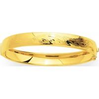 Bracelet Jonc en OR style Oriental + douille