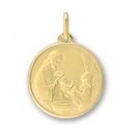 Médaille baptême en OR