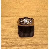 Bague bicolor Or et Diamant