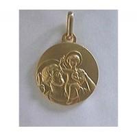 Médaille Saint François d'Assise en OR