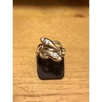"Bague ""Serpent"" Or jaune et Diamants"