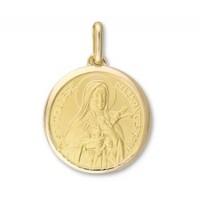 Médaille Sainte Thérèse en OR