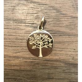 """Médaille """"Arbre de Vie"""" Or"""