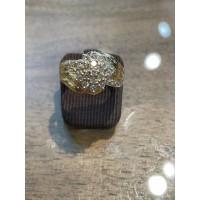 Bague occasion OR Jaune et Diamants