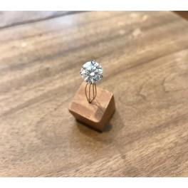 Diamant certifié 3,04ct. Monture OFFERTE