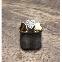 Bague Or jaune et Diamants