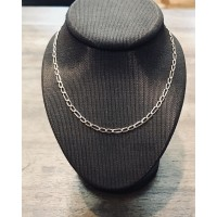 Chaine Or rose maille Alternée